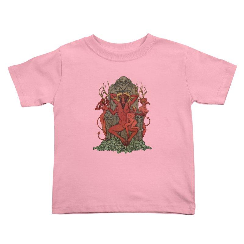 Satans little helpers Kids Toddler T-Shirt by sp3ktr's Artist Shop
