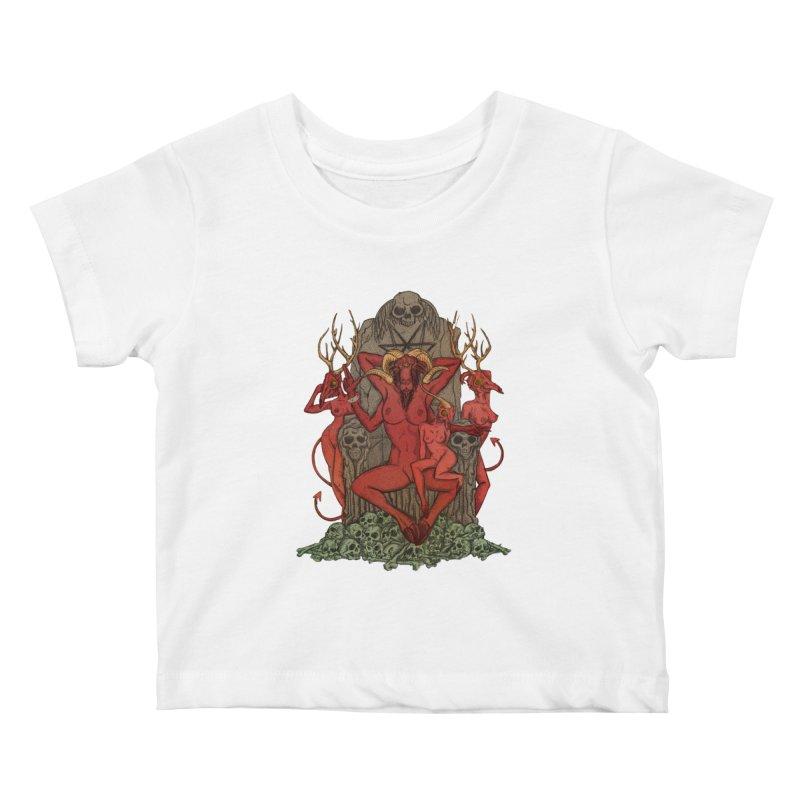 Satans little helpers Kids Baby T-Shirt by sp3ktr's Artist Shop