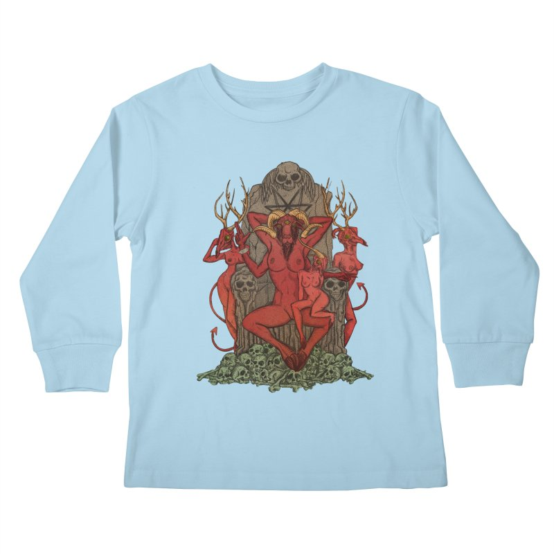 Satans little helpers Kids Longsleeve T-Shirt by sp3ktr's Artist Shop