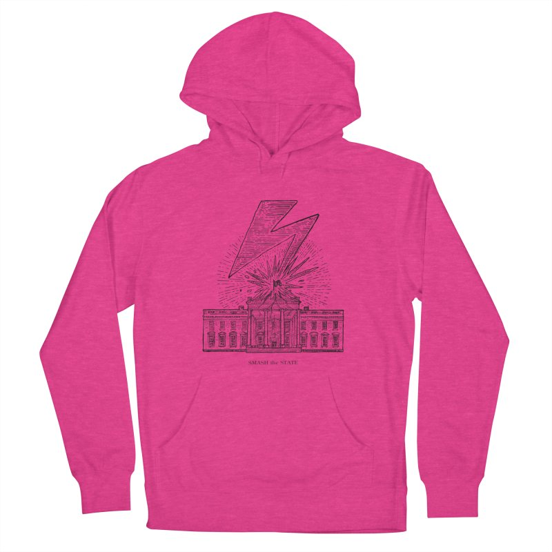 Smash The State Men's French Terry Pullover Hoody by Sp3ktr's Artist Shop