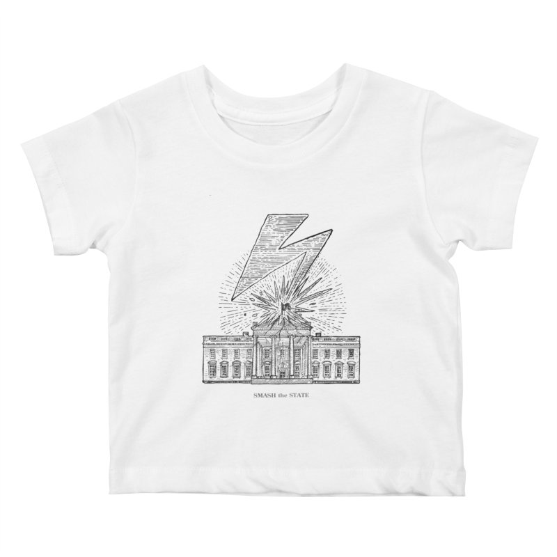 Smash The State Kids Baby T-Shirt by Sp3ktr's Artist Shop