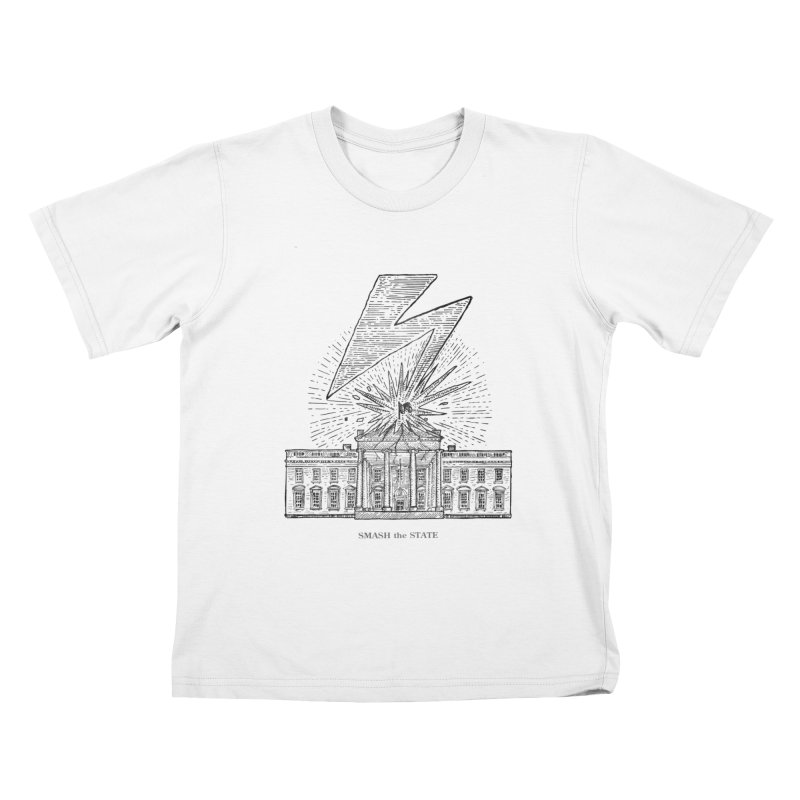 Smash The State Kids T-Shirt by sp3ktr's Artist Shop