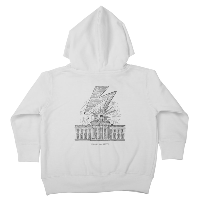 Smash The State Kids Toddler Zip-Up Hoody by Sp3ktr's Artist Shop