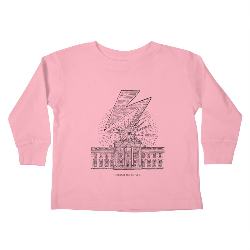 Smash The State Kids Toddler Longsleeve T-Shirt by Sp3ktr's Artist Shop