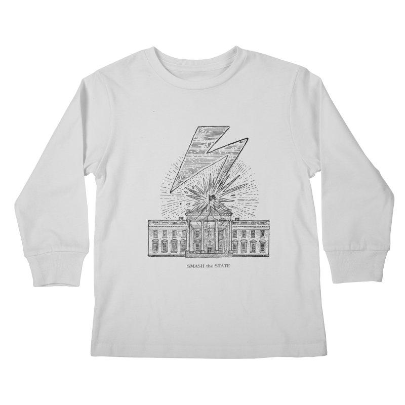 Smash The State Kids Longsleeve T-Shirt by Sp3ktr's Artist Shop