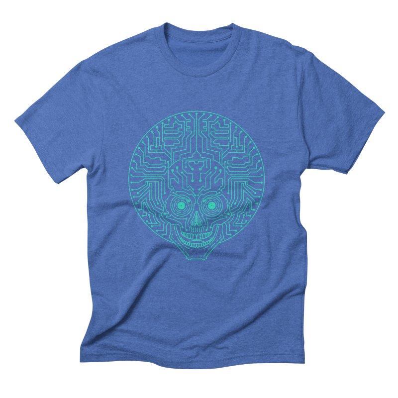 Neuro Funk Express Men's Triblend T-Shirt by Sp3ktr's Artist Shop