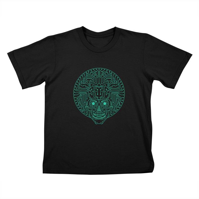 Neuro Funk Express Kids T-Shirt by sp3ktr's Artist Shop