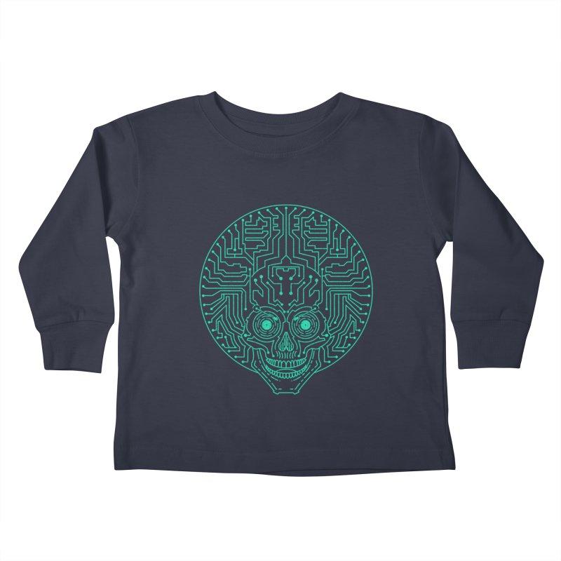 Neuro Funk Express Kids Toddler Longsleeve T-Shirt by Sp3ktr's Artist Shop