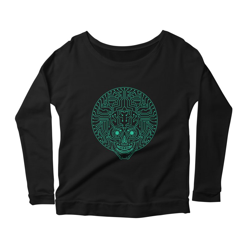 Neuro Funk Express Women's Scoop Neck Longsleeve T-Shirt by Sp3ktr's Artist Shop
