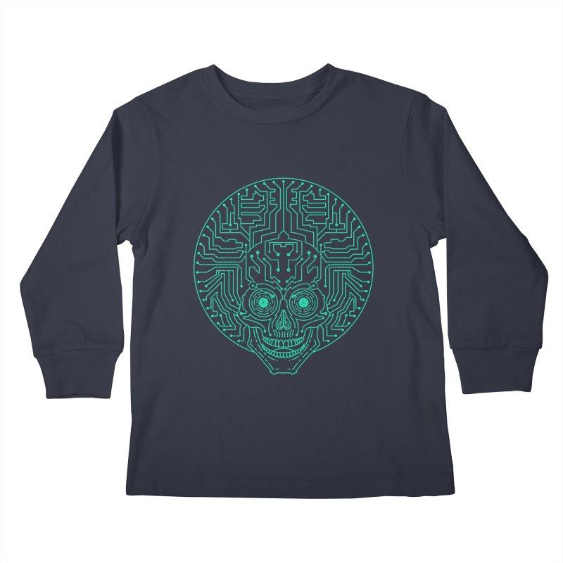 Neuro Funk Express Kids Longsleeve T-Shirt by Sp3ktr's Artist Shop