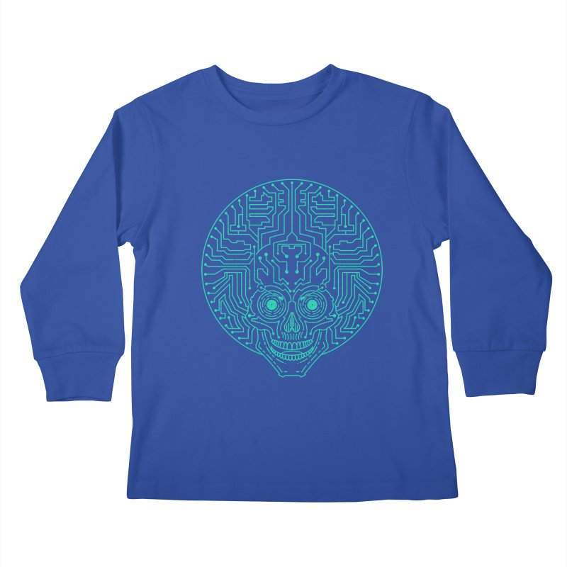 Neuro Funk Express Kids Longsleeve T-Shirt by sp3ktr's Artist Shop