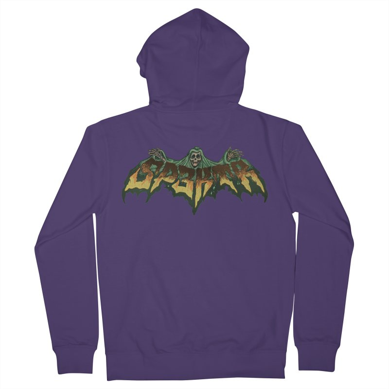 SP3KTR WRAITH Women's French Terry Zip-Up Hoody by Sp3ktr's Artist Shop