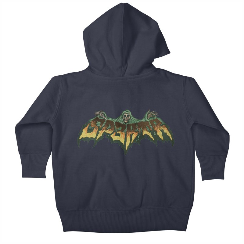 SP3KTR WRAITH Kids Baby Zip-Up Hoody by Sp3ktr's Artist Shop