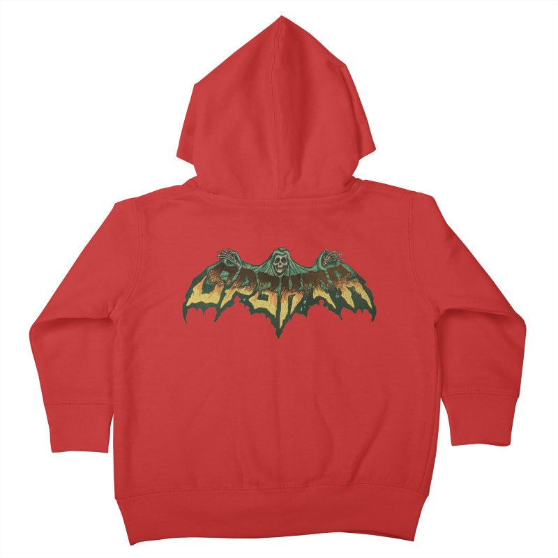 SP3KTR WRAITH Kids Toddler Zip-Up Hoody by Sp3ktr's Artist Shop