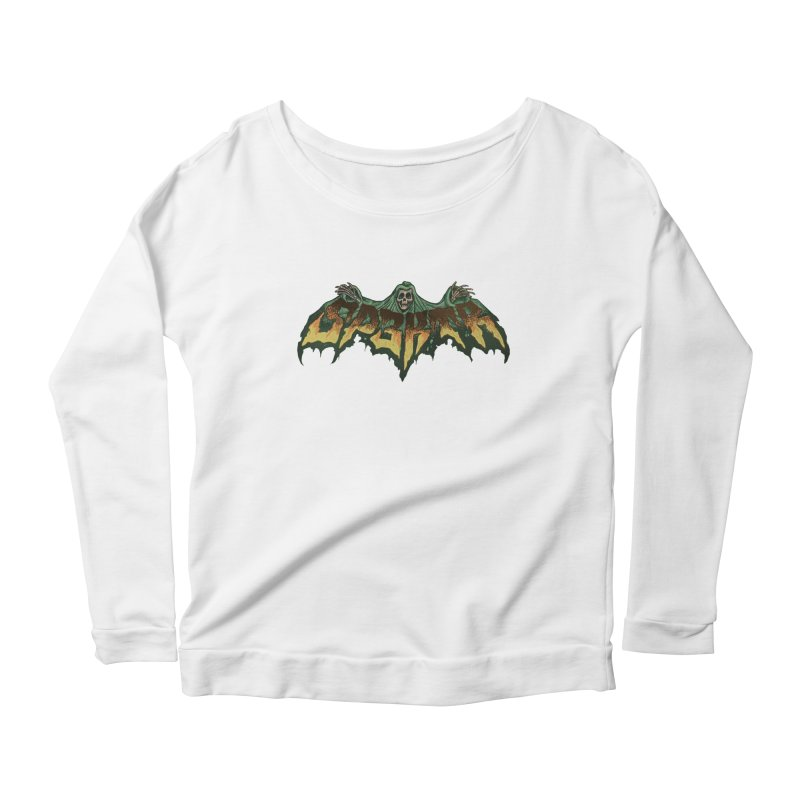 SP3KTR WRAITH Women's Scoop Neck Longsleeve T-Shirt by Sp3ktr's Artist Shop