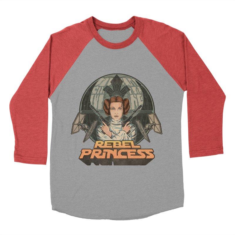 Rebel Space Princess Women's Baseball Triblend Longsleeve T-Shirt by Sp3ktr's Artist Shop