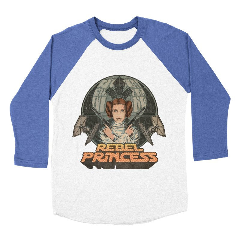 Rebel Space Princess Men's Baseball Triblend Longsleeve T-Shirt by Sp3ktr's Artist Shop