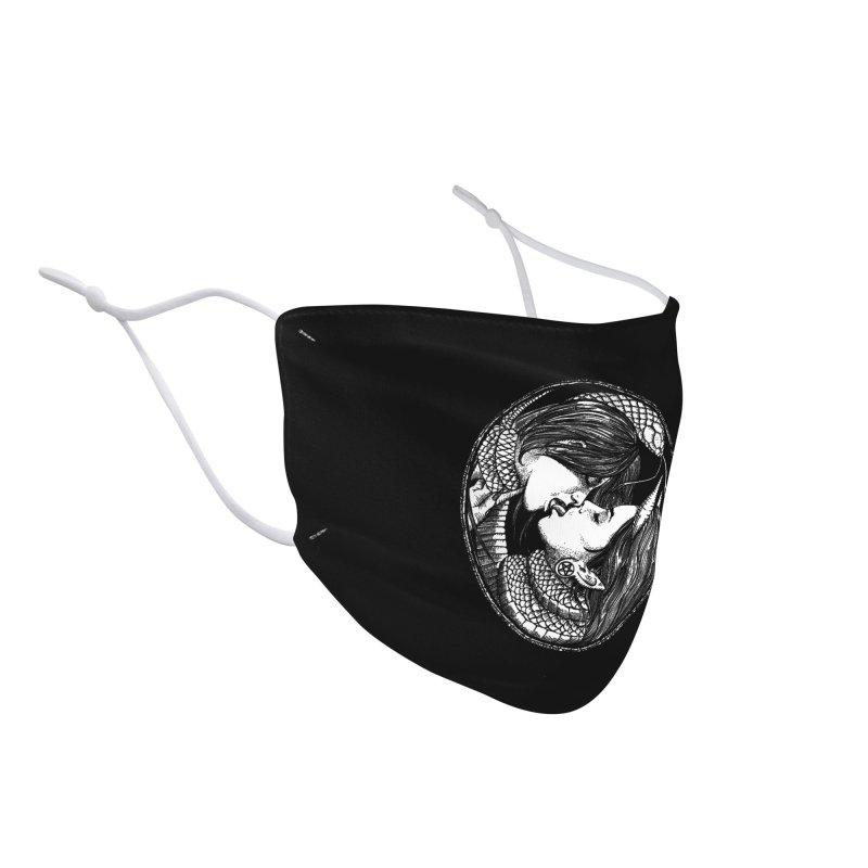 snakekiss Accessories Face Mask by Sp3ktr's Artist Shop