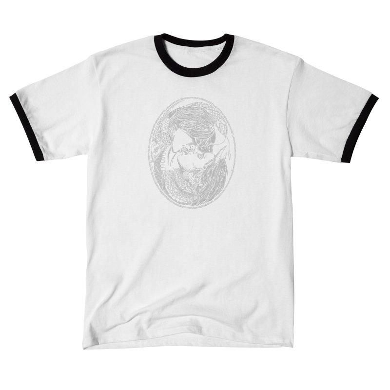 snakekiss Men's T-Shirt by Sp3ktr's Artist Shop