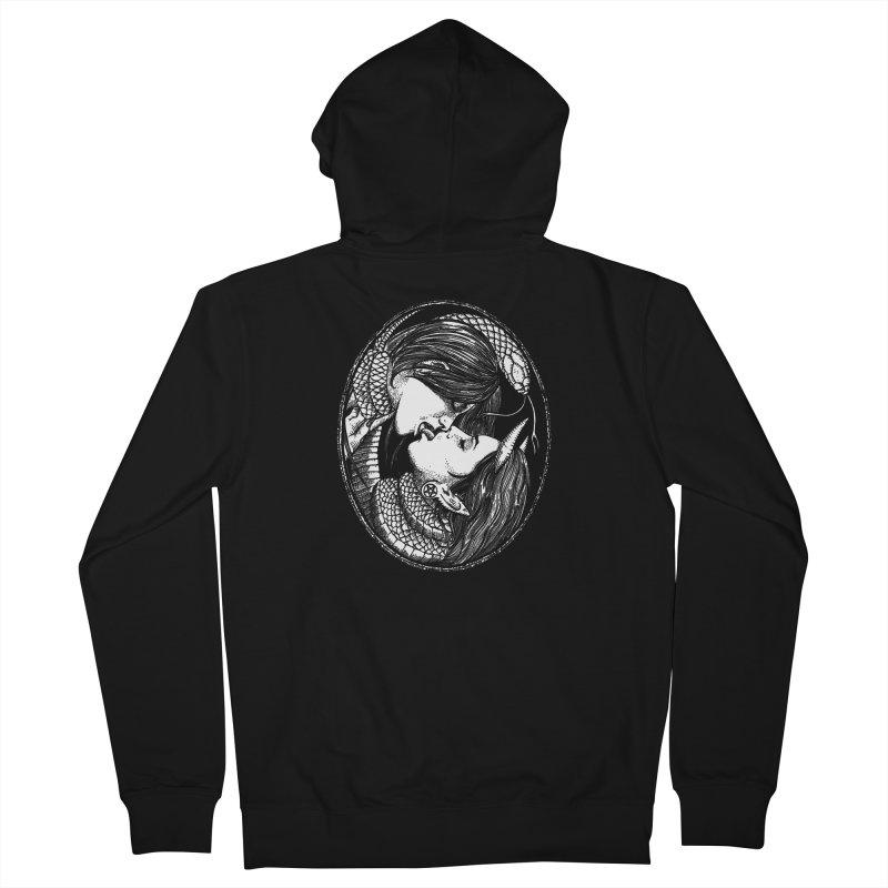 snakekiss Women's Zip-Up Hoody by Sp3ktr's Artist Shop