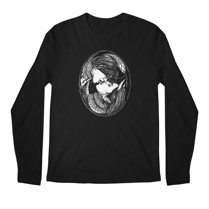 snakekiss Men's Longsleeve T-Shirt by Sp3ktr's Artist Shop