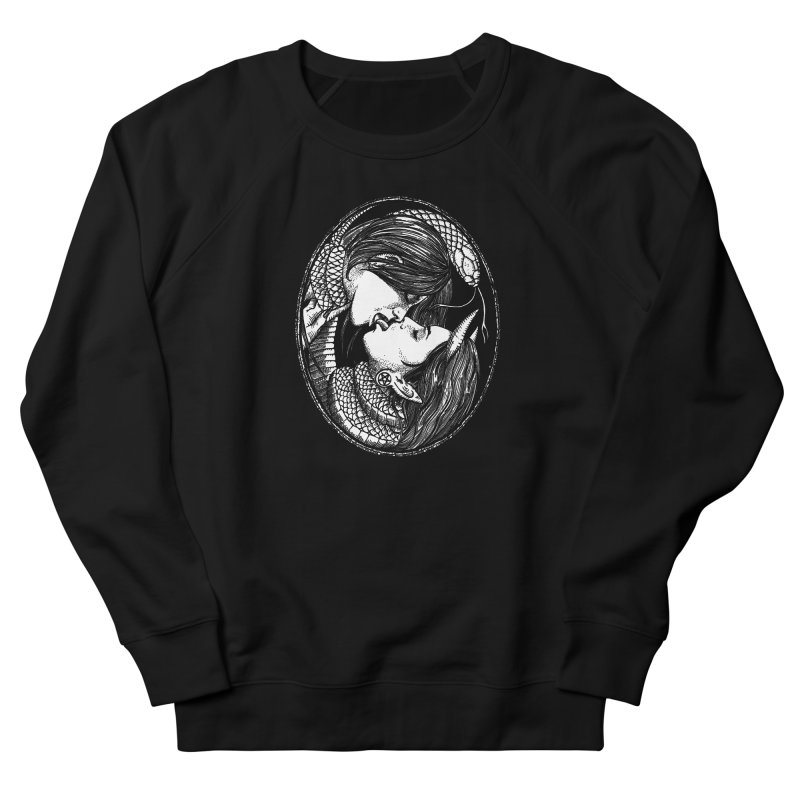 snakekiss Men's Sweatshirt by Sp3ktr's Artist Shop