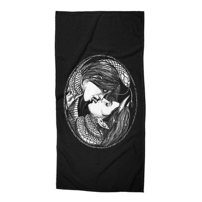 snakekiss Accessories Beach Towel by Sp3ktr's Artist Shop