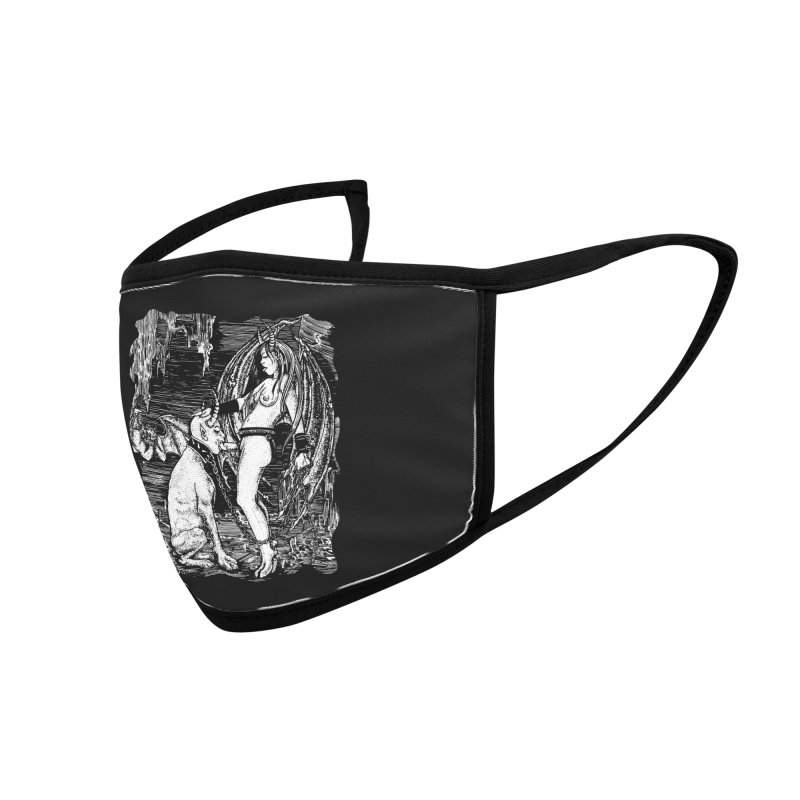 give a dog a bone Accessories Face Mask by Sp3ktr's Artist Shop