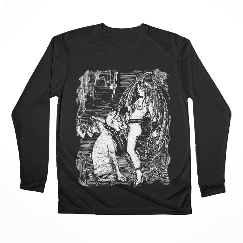 give a dog a bone Men's Longsleeve T-Shirt by Sp3ktr's Artist Shop