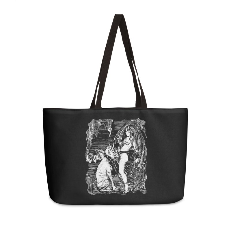 give a dog a bone Accessories Bag by Sp3ktr's Artist Shop