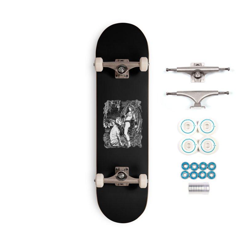 give a dog a bone Accessories Skateboard by Sp3ktr's Artist Shop