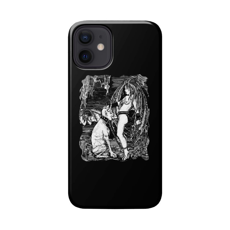 give a dog a bone Accessories Phone Case by Sp3ktr's Artist Shop