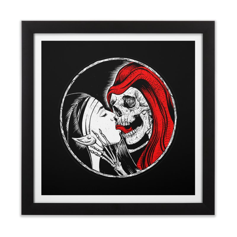HOLO REAPER Home Framed Fine Art Print by Sp3ktr's Artist Shop