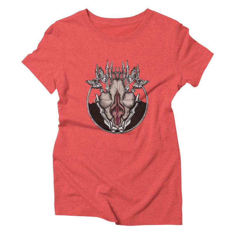 ocean flower Women's T-Shirt by Sp3ktr's Artist Shop