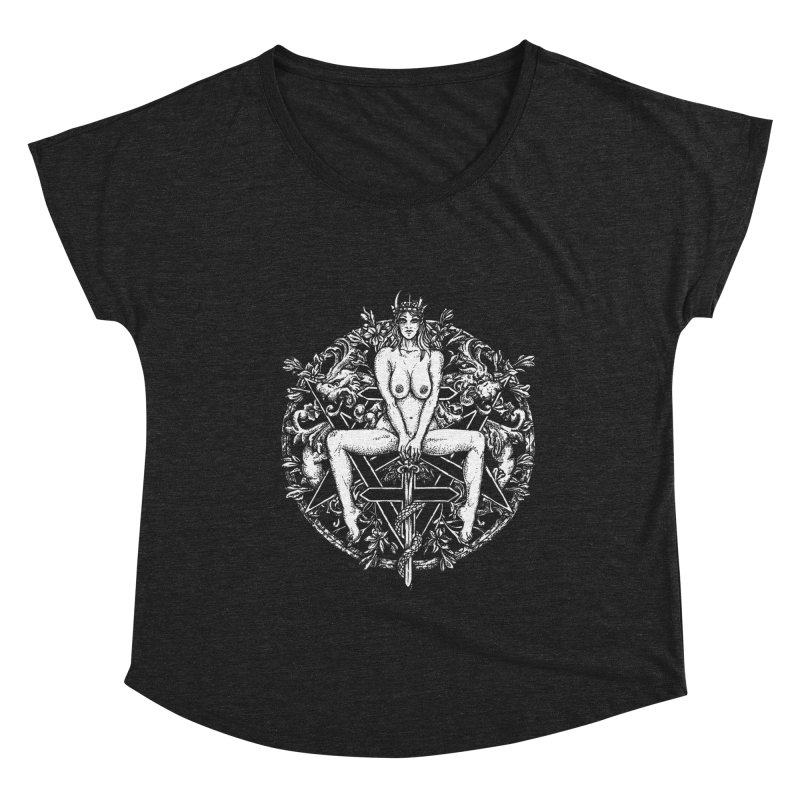 lucifuria Women's Scoop Neck by Sp3ktr's Artist Shop