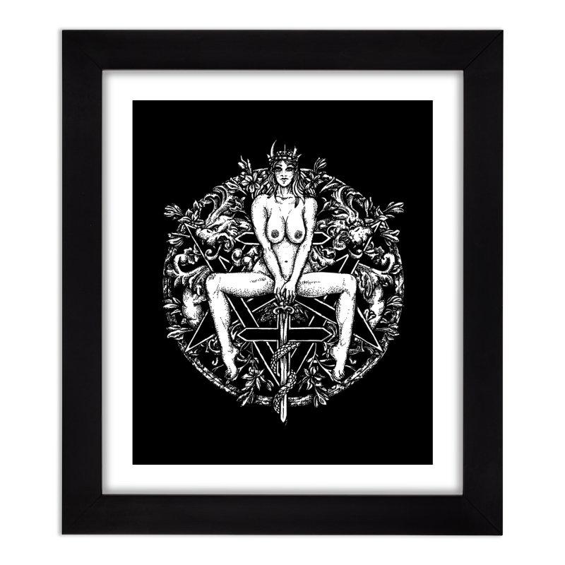 lucifuria Home Framed Fine Art Print by Sp3ktr's Artist Shop