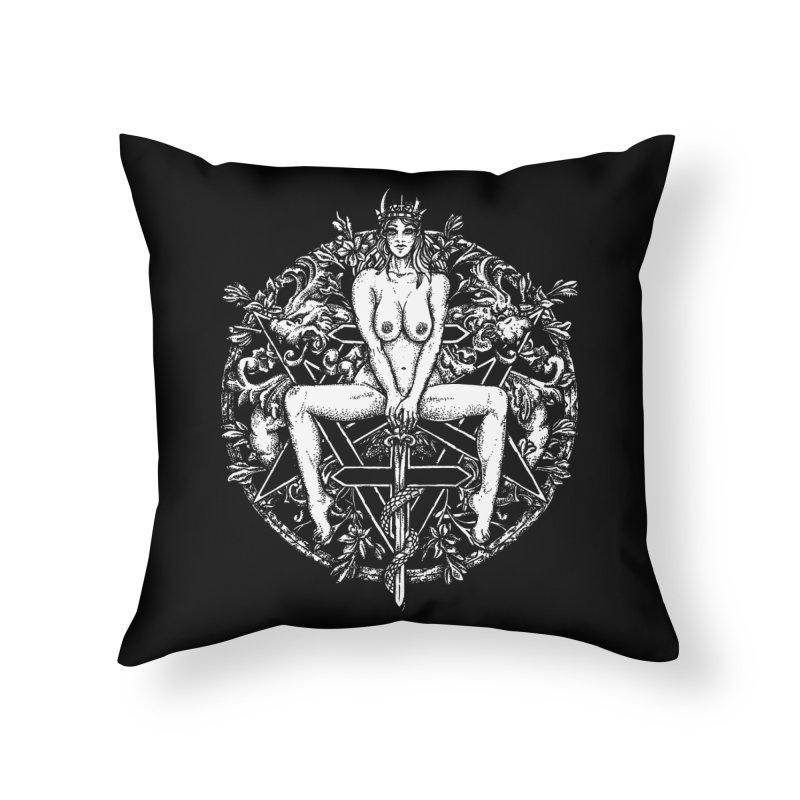 lucifuria Home Throw Pillow by Sp3ktr's Artist Shop