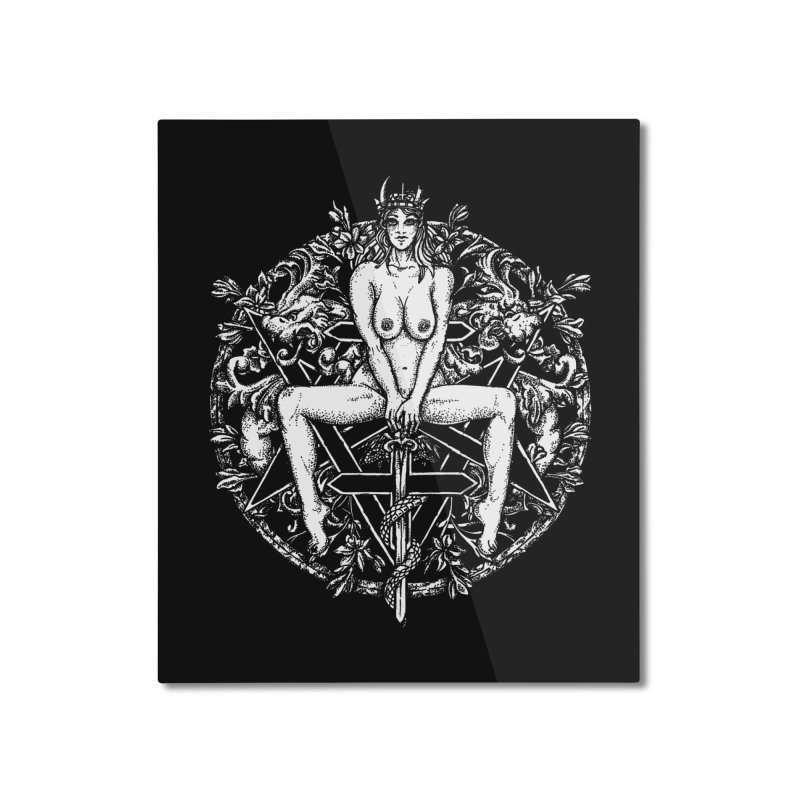 lucifuria Home Mounted Aluminum Print by Sp3ktr's Artist Shop
