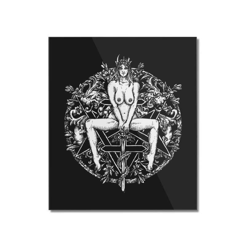 lucifuria Home Mounted Acrylic Print by Sp3ktr's Artist Shop