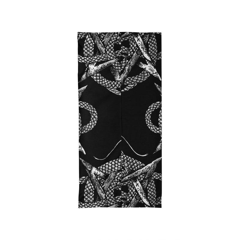 unicursal snake Accessories Neck Gaiter by Sp3ktr's Artist Shop