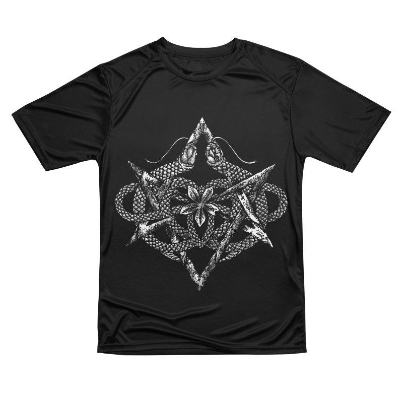 unicursal snake Women's T-Shirt by Sp3ktr's Artist Shop