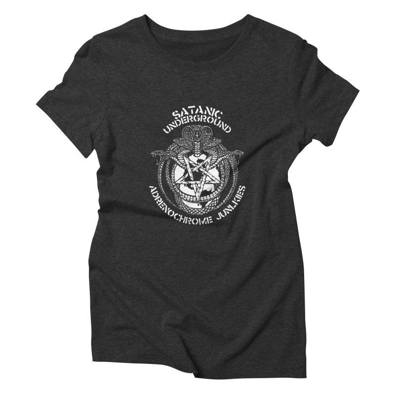 SATIN_UNDERGROUND Women's T-Shirt by Sp3ktr's Artist Shop