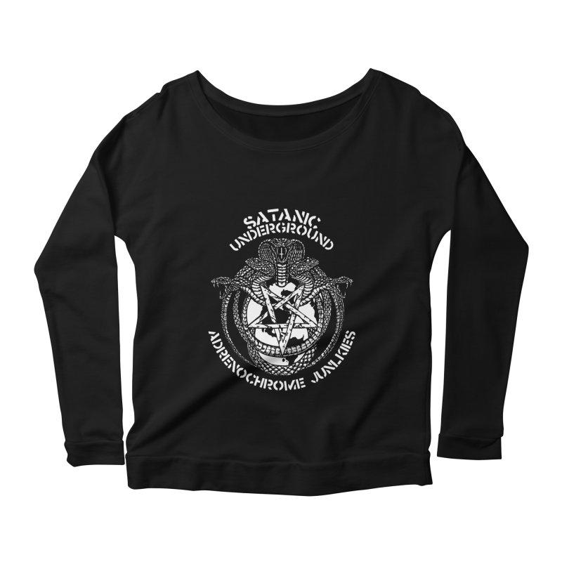 SATIN_UNDERGROUND Women's Longsleeve T-Shirt by Sp3ktr's Artist Shop