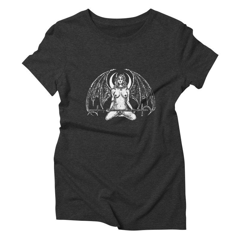 MOOON_DEMON Women's T-Shirt by Sp3ktr's Artist Shop