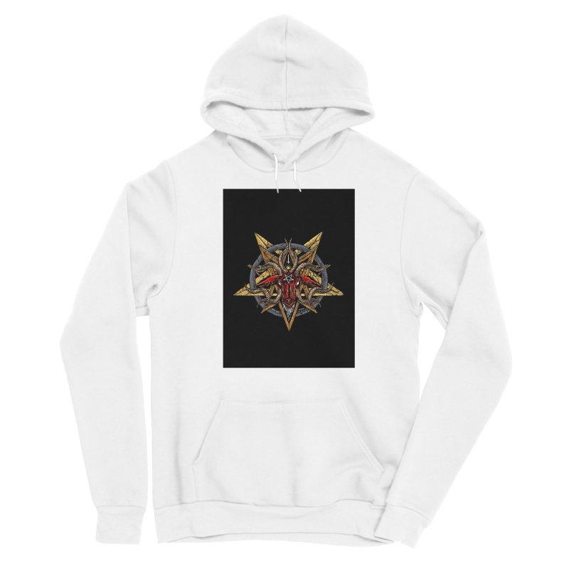 devil-satanic-hornedgod-demonic-blackmetal-punkrock-occult-tapestry Women's Pullover Hoody by Sp3ktr's Artist Shop