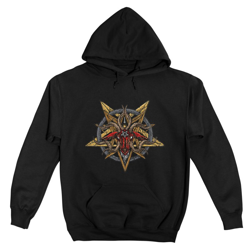 demon_GOAT_EVIL_satanic Men's Pullover Hoody by Sp3ktr's Artist Shop