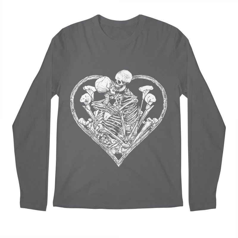 wanna bone? Men's Longsleeve T-Shirt by Sp3ktr's Artist Shop