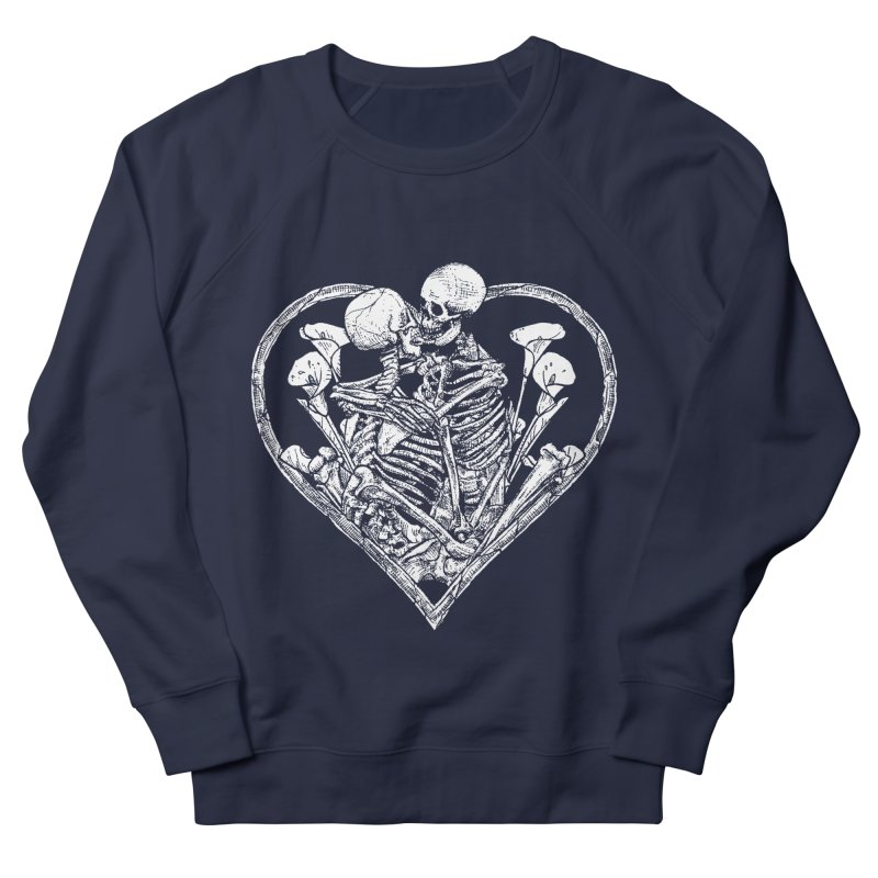 wanna bone? Women's French Terry Sweatshirt by Sp3ktr's Artist Shop