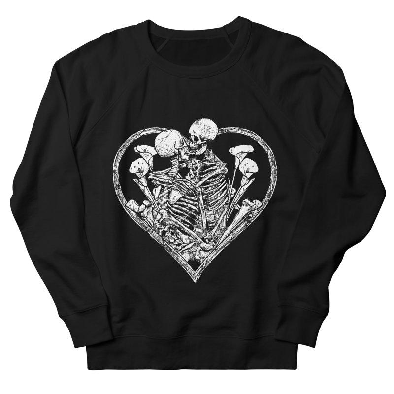 wanna bone? Men's French Terry Sweatshirt by Sp3ktr's Artist Shop
