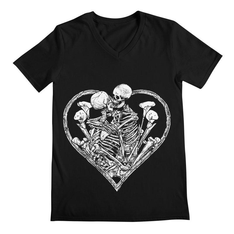 wanna bone? Men's Regular V-Neck by Sp3ktr's Artist Shop